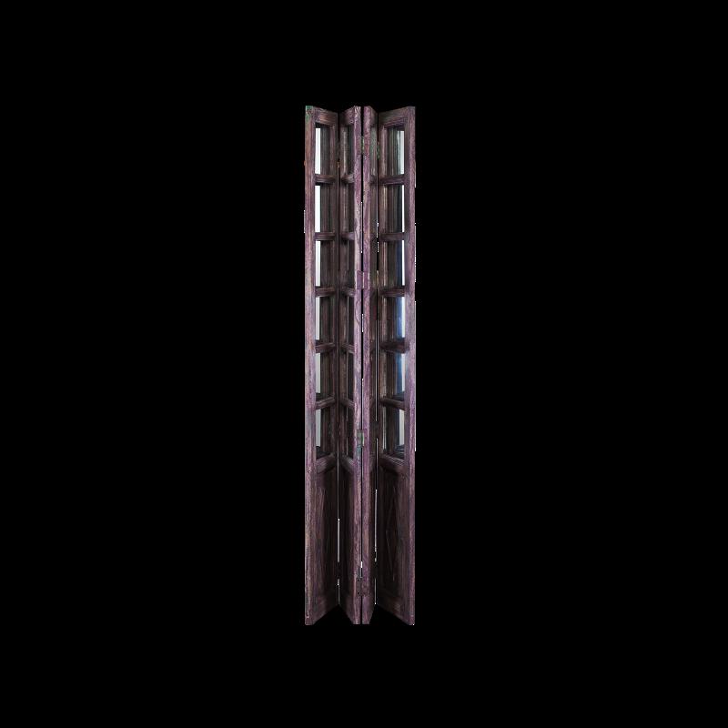 Ширма Alissa коричневого цвета