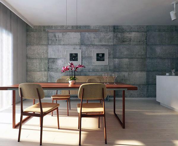 Фотография: Кухня и столовая в стиле Современный, Декор интерьера, Дизайн интерьера, Цвет в интерьере, Серый – фото на InMyRoom.ru