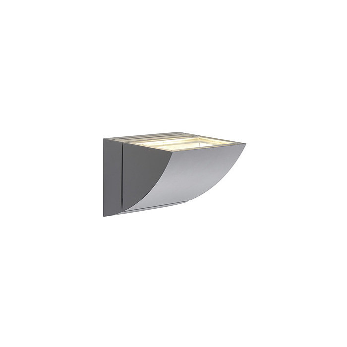 Светильник настенный SLV Shell серебристый