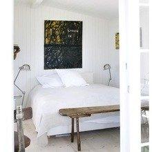Фотография: Спальня в стиле Скандинавский, Дом, Цвет в интерьере, Дома и квартиры, Белый – фото на InMyRoom.ru