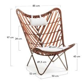 Кресла Julia Grup Cocoa