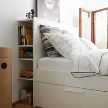 Фотография: Спальня в стиле Скандинавский, Современный, Интерьер комнат – фото на InMyRoom.ru