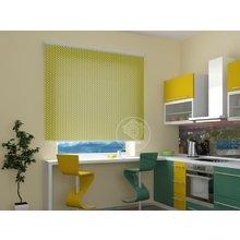 Рулонные шторы на кухню: Плетение