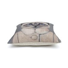 Подушка  Cat Portrait Lady