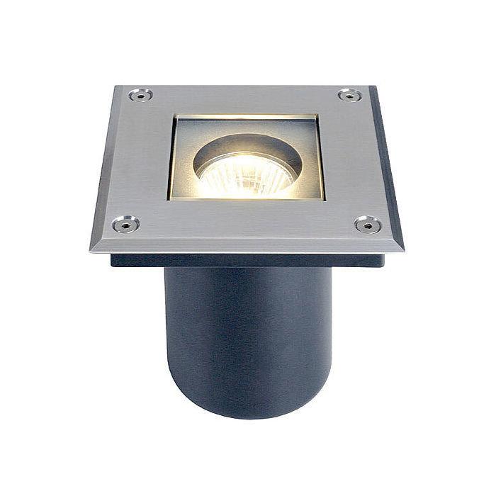 Светильник встраиваемый SLV Adjust Quadro сталь