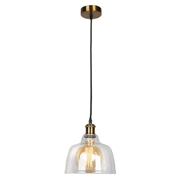 Подвесной светильник Omnilux с плафоном из стекла