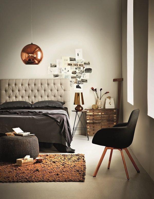Фотография: Спальня в стиле Эклектика, Декор, Стиль жизни, Советы, Камин, Плед – фото на InMyRoom.ru