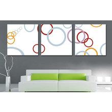 Модульная картина от дизайнера: Мыльные пузыри