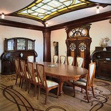 Фотография: Кухня и столовая в стиле Классический, Дом, Дизайн интерьера, Ар-нуво – фото на InMyRoom.ru