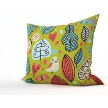 Декоративная подушка: Сказочные птахи