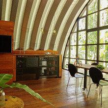 Фото из портфолио  Модульный дом для творчества и отдыха – фотографии дизайна интерьеров на InMyRoom.ru