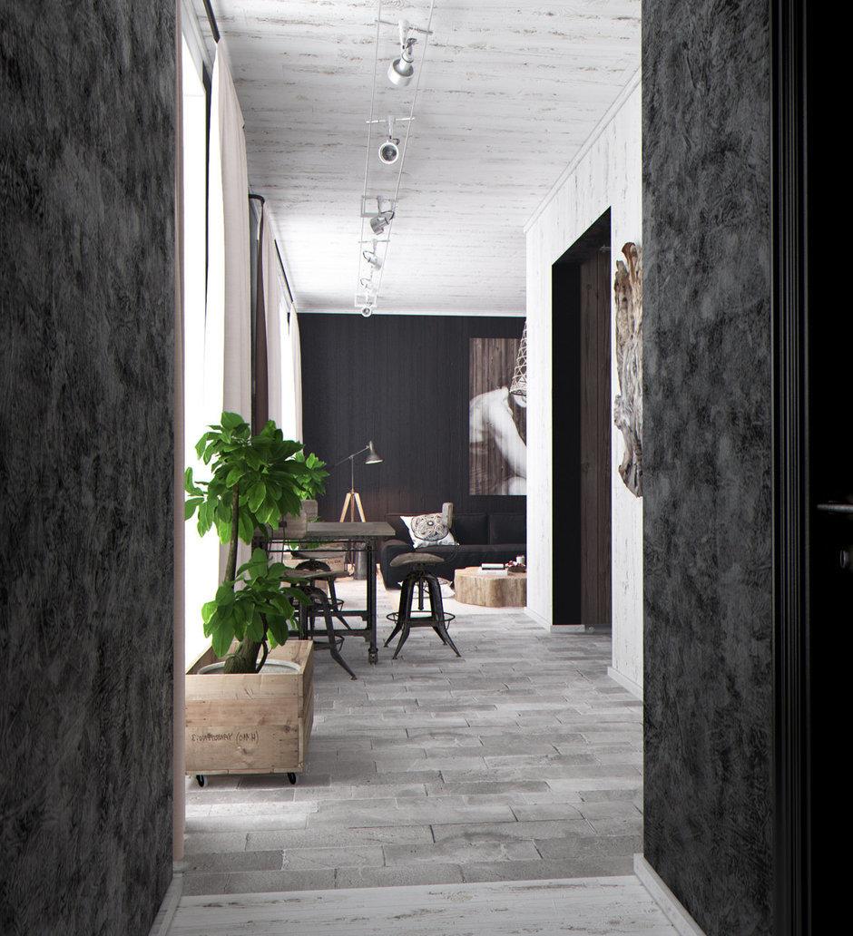 Фотография:  в стиле Современный, Квартира, Дома и квартиры, Перепланировка, Переделка – фото на InMyRoom.ru