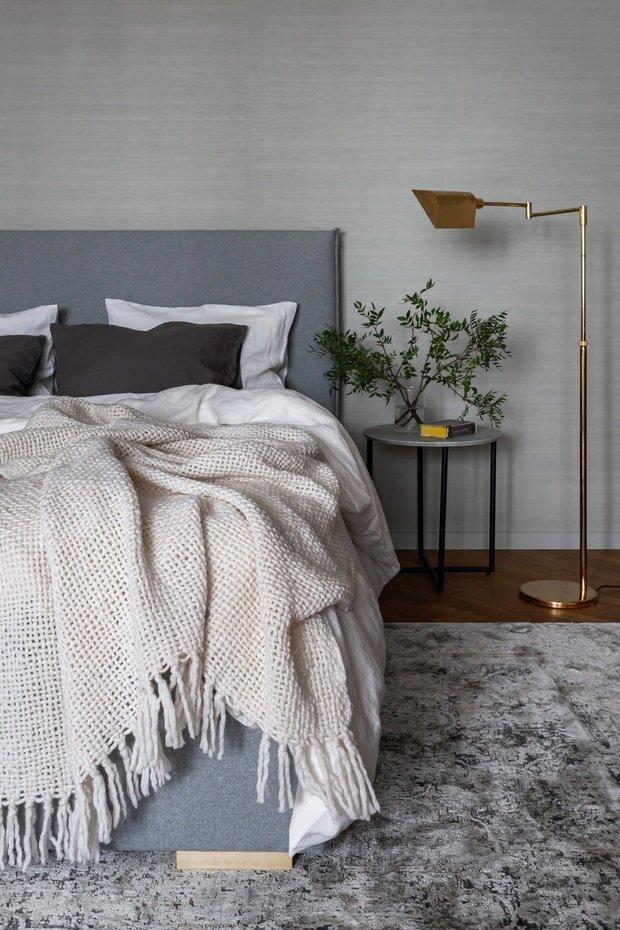 Фотография: Спальня в стиле Эклектика, Квартира, Проект недели, Москва, 3 комнаты, Более 90 метров, Наталья Яшузакова – фото на INMYROOM