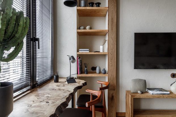 Фотография: Гостиная в стиле Эко, Восточный, Квартира, Проект недели, Москва, 3 комнаты, 60-90 метров, AD-Home – фото на INMYROOM
