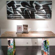 Фотография: Декор в стиле Кантри, Современный, Детская, Интерьер комнат, Шкаф, Шебби-шик, Стеллаж, Стрит-арт – фото на InMyRoom.ru