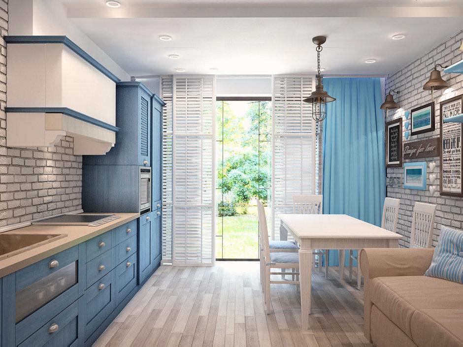Фотография: Кухня и столовая в стиле Прованс и Кантри, Дом, Дома и квартиры, Шале – фото на InMyRoom.ru