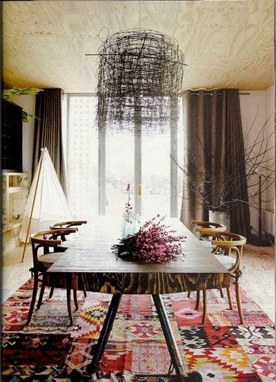 Фотография: Кухня и столовая в стиле Прованс и Кантри, Лофт, Декор интерьера, Текстиль, Декор, Декор дома, Пэчворк – фото на InMyRoom.ru