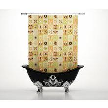 Штора для ванной: Разнообразная фауна
