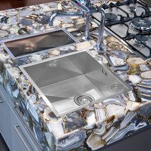 Фото из портфолио Кварцевые столешницы Caesar Stone – фотографии дизайна интерьеров на INMYROOM