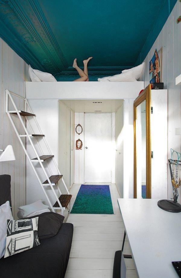 Фотография:  в стиле , Советы, Бежевый, Серый, Мебель-трансформер, кровать-трансформер, диван-кровать – фото на InMyRoom.ru