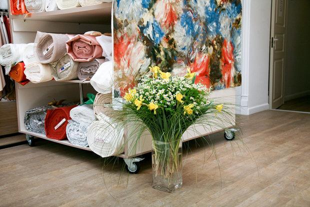 Фотография: Кухня и столовая в стиле Современный, Текстиль, Индустрия, События, Ткани – фото на InMyRoom.ru