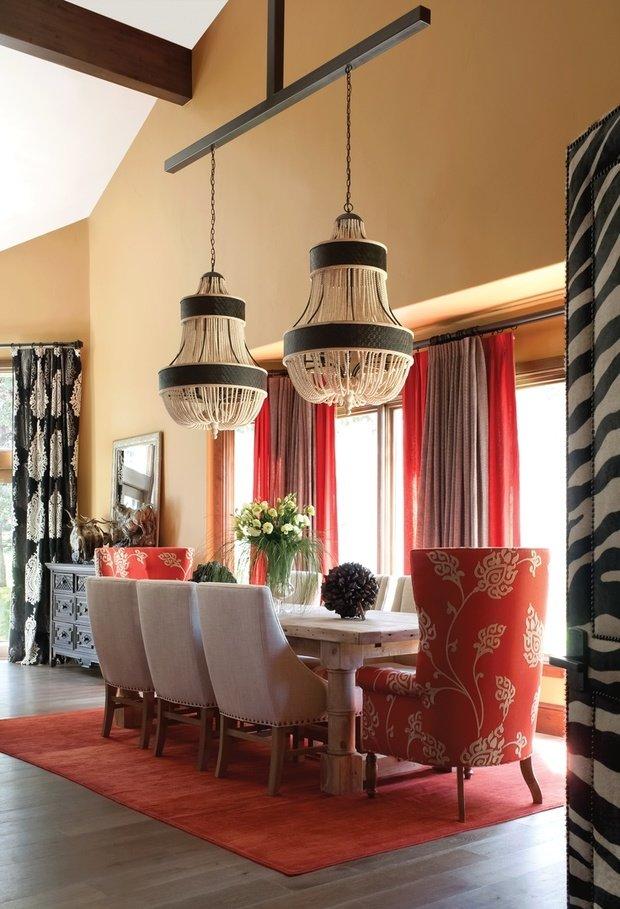 Фотография: Кухня и столовая в стиле Восточный, Классический, Декор интерьера, DIY, Мебель и свет, Советы, Люстра – фото на InMyRoom.ru