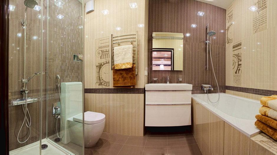 Фотография: Ванная в стиле Современный, Квартира, Дома и квартиры, Ар-деко, Неоклассика – фото на InMyRoom.ru