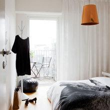 Фотография: Спальня в стиле Скандинавский, Квартира, Дома и квартиры – фото на InMyRoom.ru