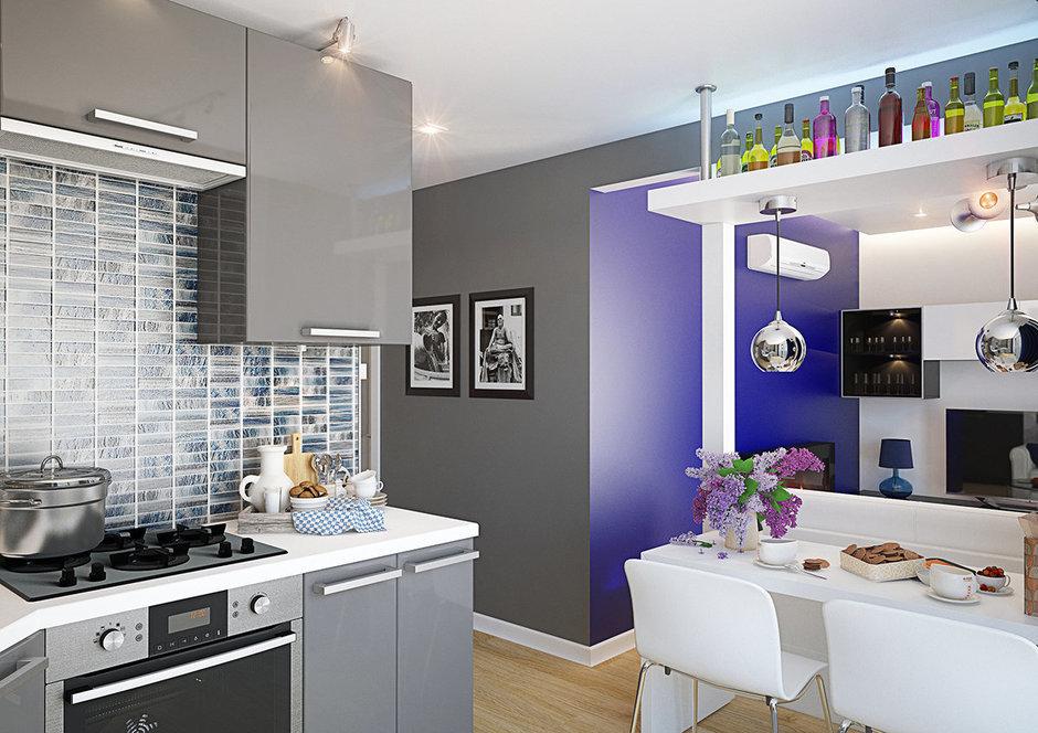 Фотография: Кухня и столовая в стиле Современный, Хай-тек, Минимализм – фото на InMyRoom.ru