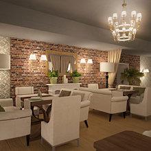 Фото из портфолио Ресторан – фотографии дизайна интерьеров на InMyRoom.ru