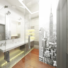 Фото из портфолио Современный интерьер с элементами лофта 70 кв. м  – фотографии дизайна интерьеров на INMYROOM