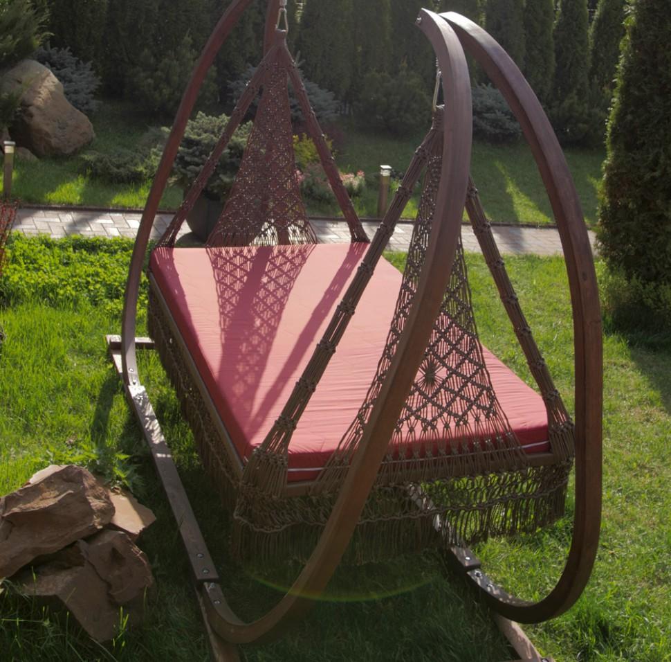Купить Деревянный каркас Марракеш для семейного подвесного гамака качелей, inmyroom