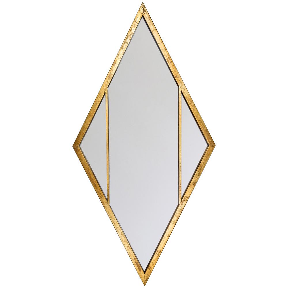 Купить Настенное зеркало санторини ромбовидной формы, inmyroom, Россия