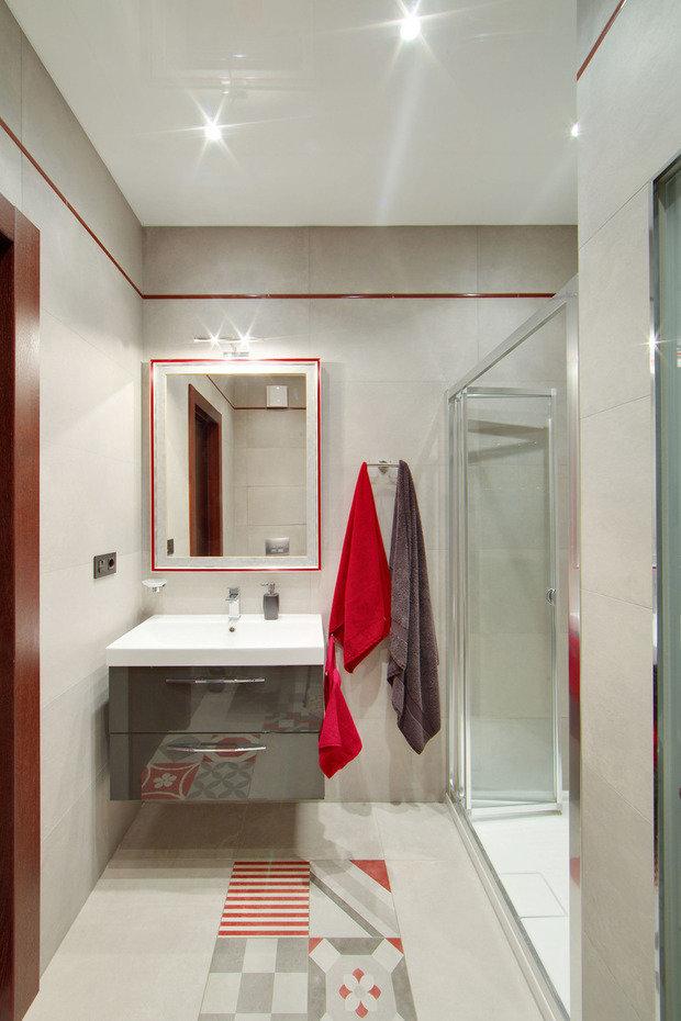 Фотография: Ванная в стиле Современный, Хай-тек, Дом, Дома и квартиры, IKEA, Проект недели, Таунхаус – фото на INMYROOM