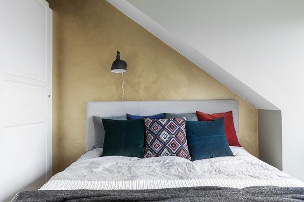 Фотография: Спальня в стиле Скандинавский, Эклектика, Декор интерьера, Квартира, Швеция, Стокгольм, 4 и больше, Более 90 метров – фото на INMYROOM