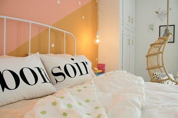 Фотография: Спальня в стиле Скандинавский, Детская, Интерьер комнат, Цвет в интерьере, Белый – фото на InMyRoom.ru