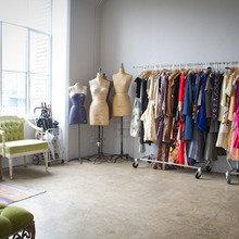 Фотография: Гардеробная в стиле Кантри, Кабинет, Квартира, Интерьер комнат, Лос-Анджелес – фото на InMyRoom.ru