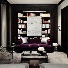 Фото из портфолио Насыщенно-сиреневый цвет : весенняя теплота и мягкость – фотографии дизайна интерьеров на INMYROOM