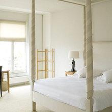 Фотография: Спальня в стиле Скандинавский, Минимализм, Дома и квартиры, Городские места, Отель – фото на InMyRoom.ru