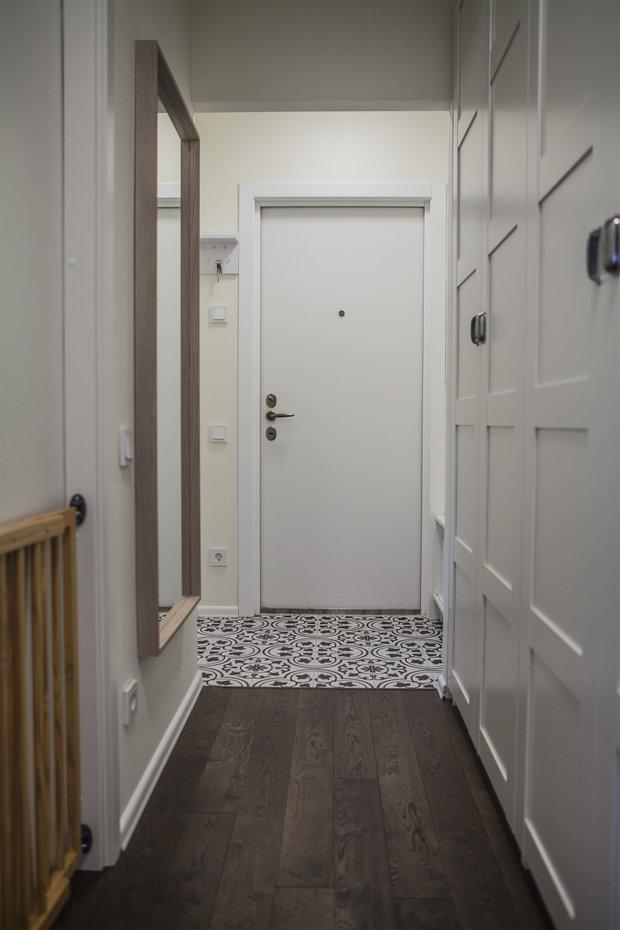 Фото из портфолио Квартира 55 кв.м. Москва, набережная Новикова-Прибоя – фотографии дизайна интерьеров на INMYROOM