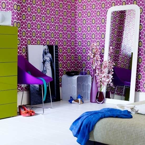 Фотография:  в стиле , Эклектика, Декор интерьера, Декор дома, Цвет в интерьере, Геометрия в интерьере – фото на InMyRoom.ru