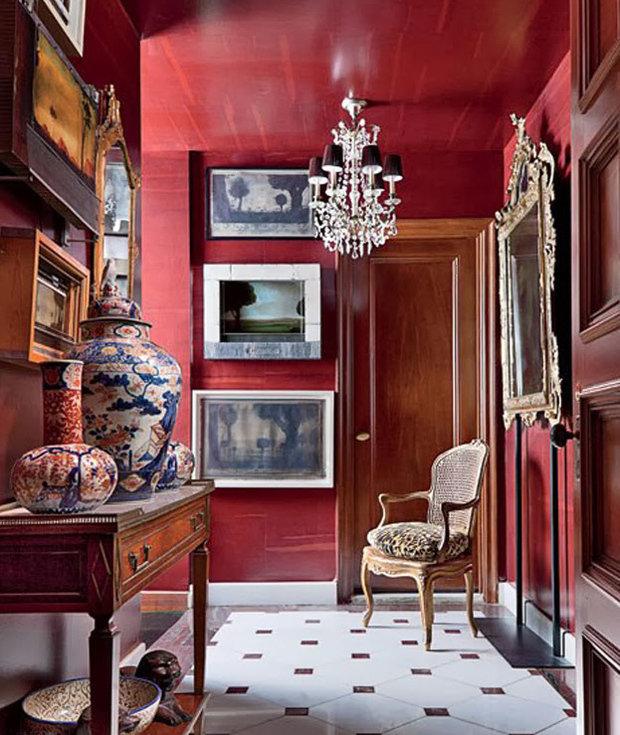 Фотография: Прихожая в стиле Прованс и Кантри, Декор интерьера, Дизайн интерьера, Цвет в интерьере – фото на InMyRoom.ru