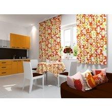 Кухонная скатерть: Апельсиновые цветы
