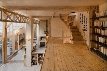 Фотография: Прихожая в стиле Прованс и Кантри, Дом, Дома и квартиры, Лестница – фото на InMyRoom.ru