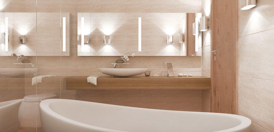 Фотография: Ванная в стиле Современный, Квартира, Дома и квартиры, Проект недели, Мансарда – фото на InMyRoom.ru