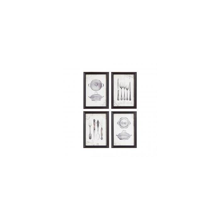 Декор для стен MDF Framed WalL Plaque, 4 Styles