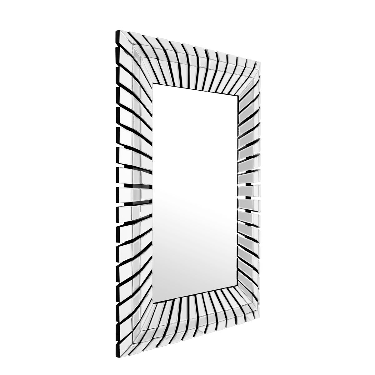Купить со скидкой Настенное зеркало Granduca с зеркальной рамкой в виде солнечных лучей