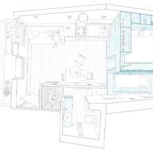 Фотография: Планировки в стиле , Квартира, Цвет в интерьере, Дома и квартиры, Белый, Минимализм – фото на InMyRoom.ru