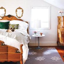 Фотография: Спальня в стиле Кантри, Декор интерьера, DIY, Декор дома, Ковер – фото на InMyRoom.ru