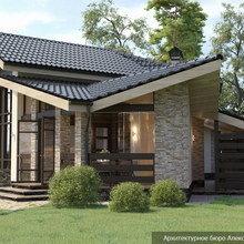 Фото из портфолио Проект большой бани с тремя спальнями в Тверской области – фотографии дизайна интерьеров на INMYROOM
